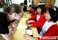 Дети из пострадавших от землетрясения районов Китая прибавили в весе от вкусных блюд русской кухни