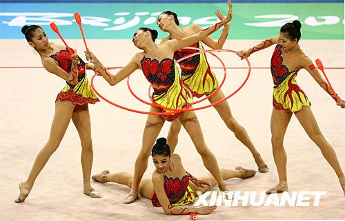 сборная Китая, художественная гимнастика, эстетическая гимнастика