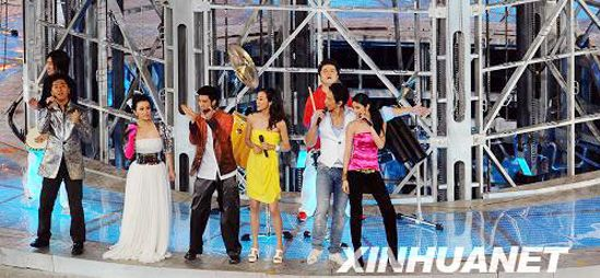 6 китайских и зарубежных певцов выступают на церемонии закрытия Олимпиады Пекина