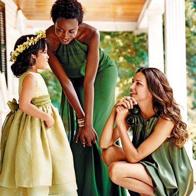 Изящные платья для подружек невесты img src=http...