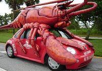 Забавные автомобили в виде животных