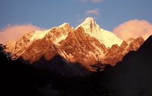 Горы Гунгашань в провинции Сычуань
