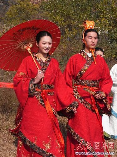 Шоу древних нарядов династии Хань