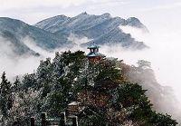 Восхитительные зимние пейзажи гор Лушань