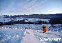Пленительные зимние пейзажи в районе Канас Синьцзяна