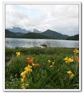 Озеро Жиюетань на острове Тайвань