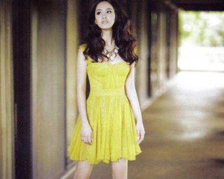 Красивая корейская актриса Ким Тхэ Хи 2