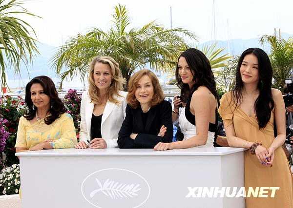 Члены жюри конкурсной программы появились на Каннском кинофестивале