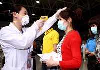 Волонтеры, работающие на передовом фронте профилактики и контроля заболеваний гриппом A/H1N1