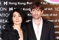 Известная актриса Чжан Маньюй (Мэгги) со своим парнем
