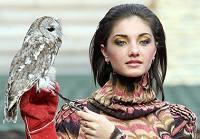 Демонстрация моды в одном российском зоопарке