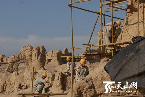 Успешно идет реставрация важных культурных памятников на синцзянском участке Шелкового пути 1