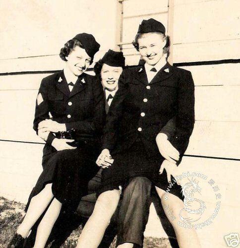 Женщины солдаты второй мировой войны