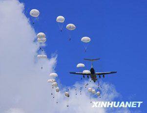 Проведение тренировок в рамках совместных военных учений «Мирная миссия-2009»