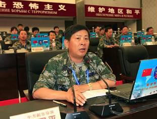 Штаб-квартира китайской стороны на совместных военных учениях «Мирная миссия-2009»