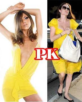Сравнение нарядов Анджелины Джоли и Дженнифер Энистон