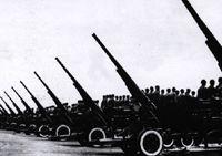 Учредительная церемония военного парада в честь образования КНР в 1949 году