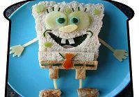 Сэндвичи по образу героев мультфильмов
