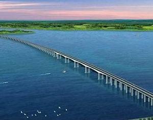 Мосты через реку Янцзы в Китае