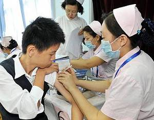 Пекин стал первым городом, где стартовала вакцинация от вируса гриппа H1N1