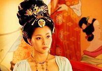 Кадры с актрисой Инь Тао из телесериала «Танская наложница Ян Юйхуань»