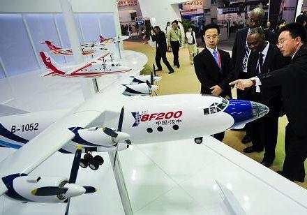 Более 200 китайских и зарубежных предприятий принимают участие в 13-м Пекинском международном авиасалоне1