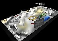 Представлен трехмерный дизайн интерьера тематического павильона Китая на Франкфуртской международной книжной ярмарке