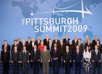 Участие председателя КНР Ху Цзиньтао в мероприятиях ООН и 3-м финансовом саммите «Группы 20»