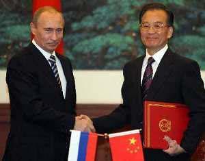 Китай и Россия подписали ряд документов о сотрудничестве