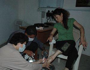 В результате взрыва в Багдаде погибли 147 человек. Выбиты почти все окна и двери Посольства Китая в Ираке