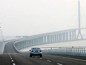 Официально сдан в эксплуатацию Шанхайский мост-тоннель через реку Янцзы