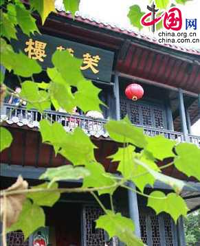 Терем Фужунлоу - достопримечательность провинции Хунань