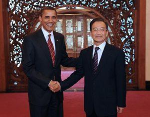 Вэнь Цзябао надеется, что визит Б. Обамы выведет китайско-американские отношения на новый уровень