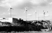 Первая в Китае электоростанция на энергии ветра, которая включена в электросеть, - ?Малань? в провинции Шаньдун