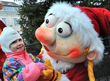 В Таллине открылась Рождественская ярмарка
