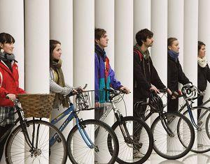 Английские студенты пропагандируют велосипедные путешествия