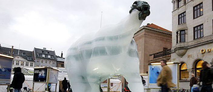 Тающие белые медведи