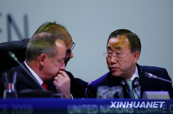 Пан Ги Мун: копенгагенская конференция сделала шаг в правильном направлении