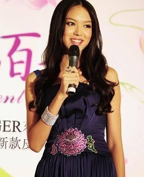 Фотографии мисс мира Чжан Цзылинь