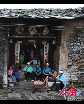 Волость Тяньлун провинции Гуйчжоу - единственное место, где сохранились обычаи династии Мин