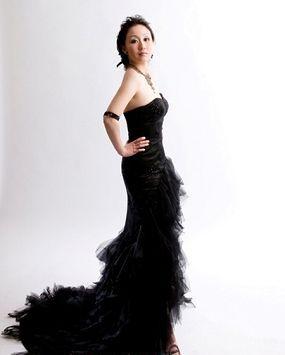 Оригинальные свадебные платья черного цвета