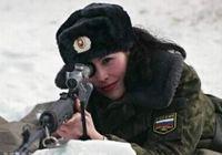 Женщины-солдаты России