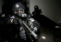 Антитеррористический отряд «Гепард» г. Чунцин в военных учениях