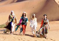 Новые кадры из фильма «Секс в большом городе-2» в Марокко