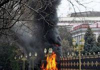 Срочно: В Кыргызстане в ходе беспорядков погибли 17 человек, еще 180 -- получили ранения -- Минздрав