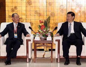 Си Цзиньпин встретился с гостями с Тайваня