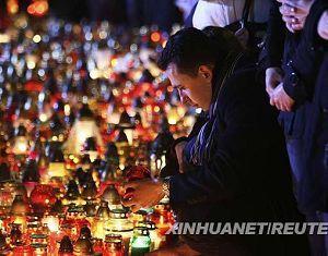 Очевидцы: авиакатастрофа под Смоленском -- ужасная трагедия, но, к счастью, самолет не упал на жилые дома