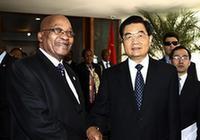 Встреча Ху Цзиньтао с президентом ЮАР