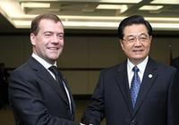 Председатель КНР Ху Цзиньтао встретился с президентом РФ Д. Медведевым