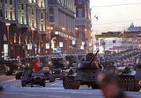 Первая репетиция военного парада проведена в России